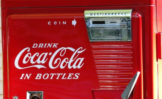 DISTRIBUTORE COCA COLA VINTAGE - CANINGAM - Eventi, Party, Matrimoni, Feste